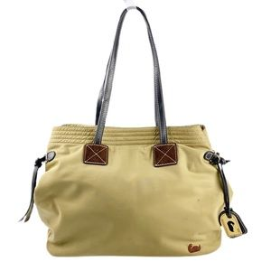 Dooney & Bourke Victoria Nylon Tote Bag in Olive